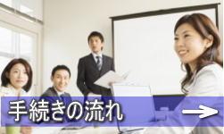 測量業登録申請、更新、変更の流れ